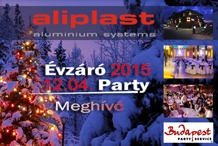 Aliplast - Aliplast Évzáró Party 2015.12.04.