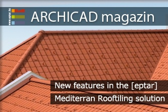 New features in the [eptar] Mediterran Rooftiling solution