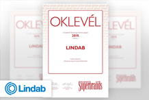 Lindab - Megnyertük a Business Superbrands 2019 díjat
